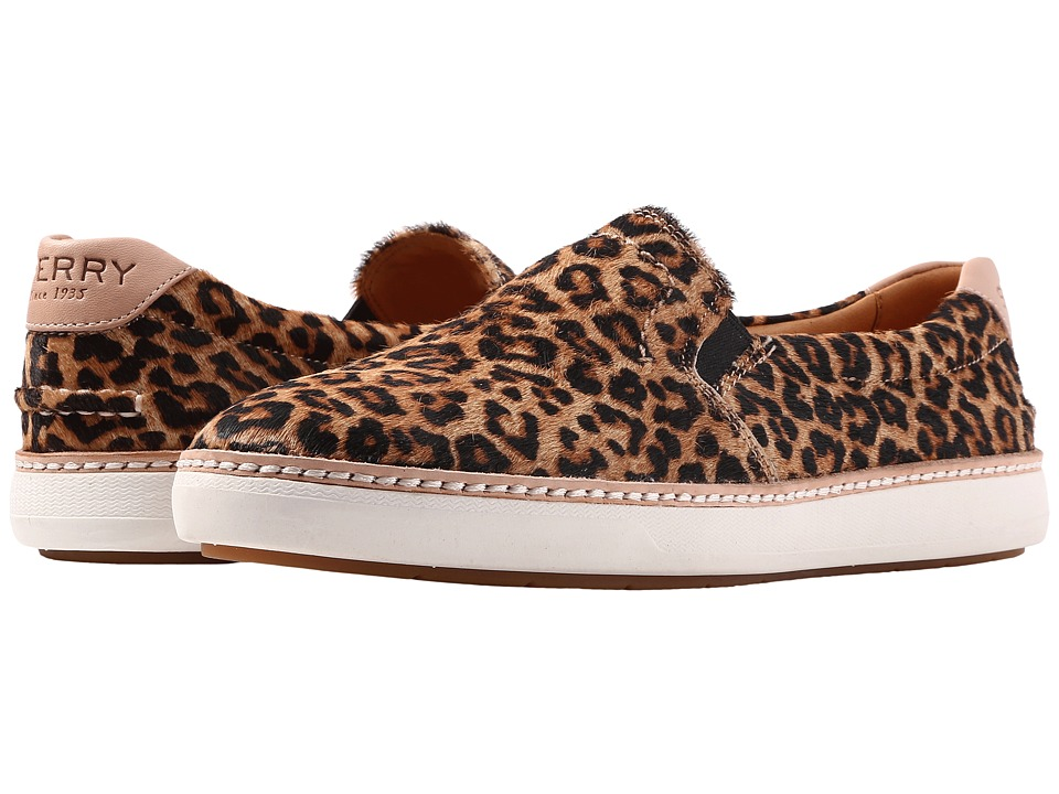 Sperry Gold Cup Rey (Leopard) Women