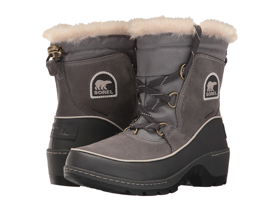 SOREL Tivoli III (Quarry/Cloud Grey) Women's Waterproof Boots