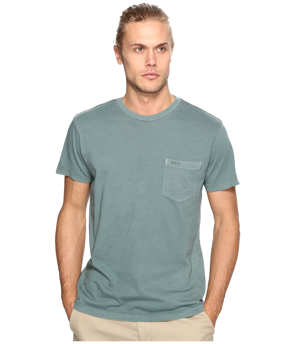 RVCA PTC 2 Pigment Knit Tee (Pine Tree) Men
