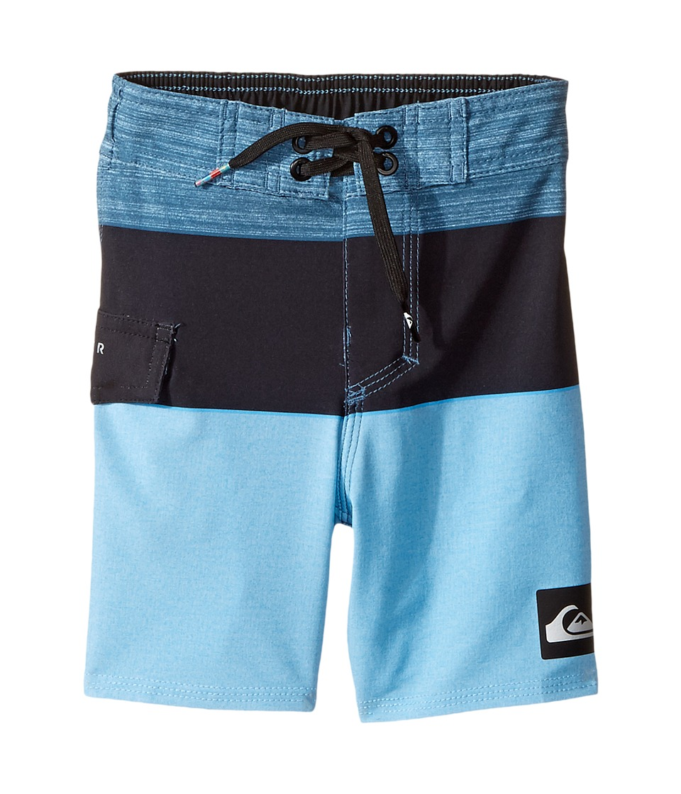 Quiksilver Kids Everyday Blocked Boardshorts (Toddler/Little Kids) (Indian Teal) Boy