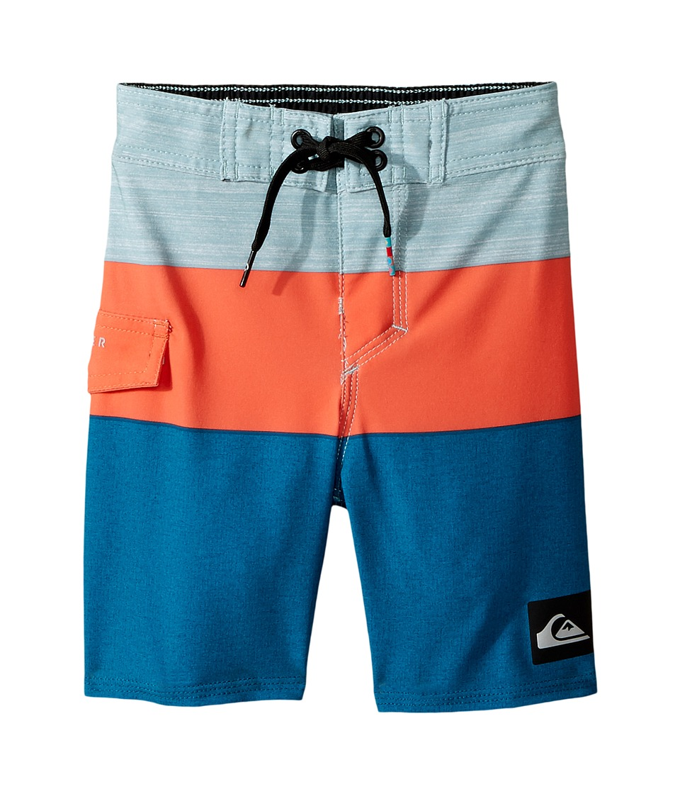 Quiksilver Kids Everyday Blocked Boardshorts (Toddler/Little Kids) (Moroccan Blue) Boy