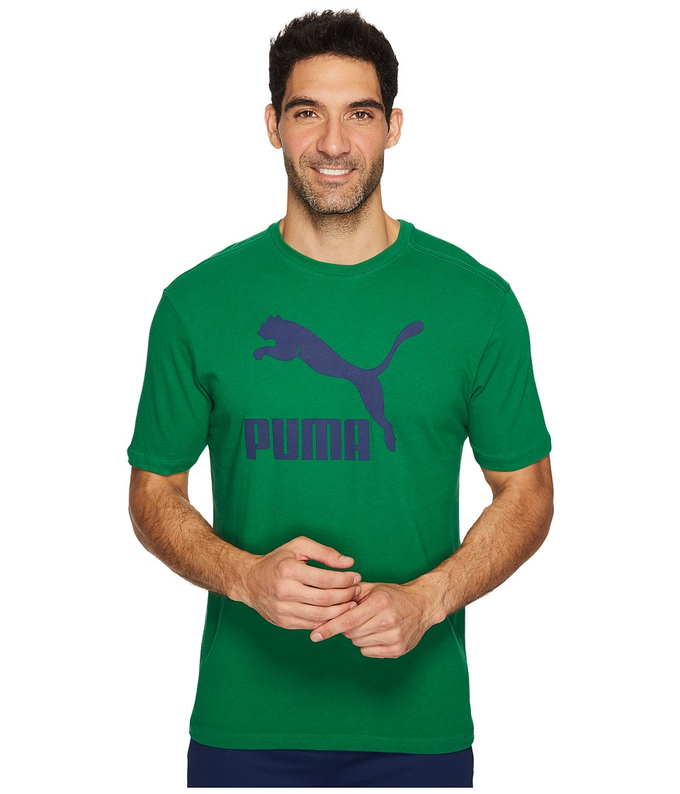 PUMA Archive Life Tee (Verdant Green/Blue Depths) Men