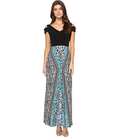 London Times - Tribal Medley Maxi Dress