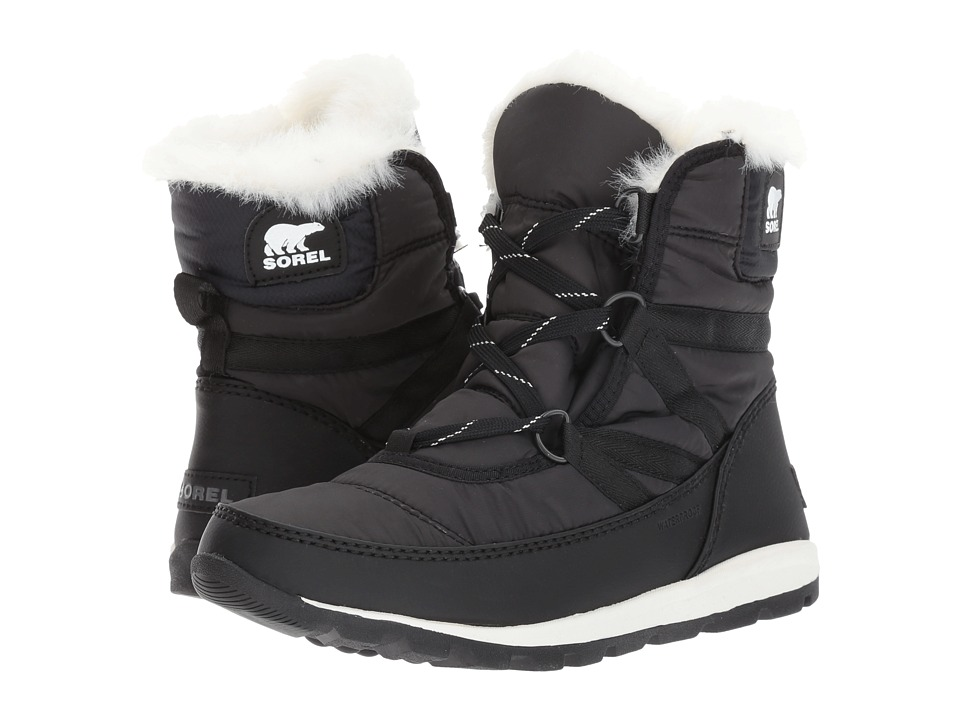 SOREL Whitney Short Lace (Black) Women's Waterproof Boots