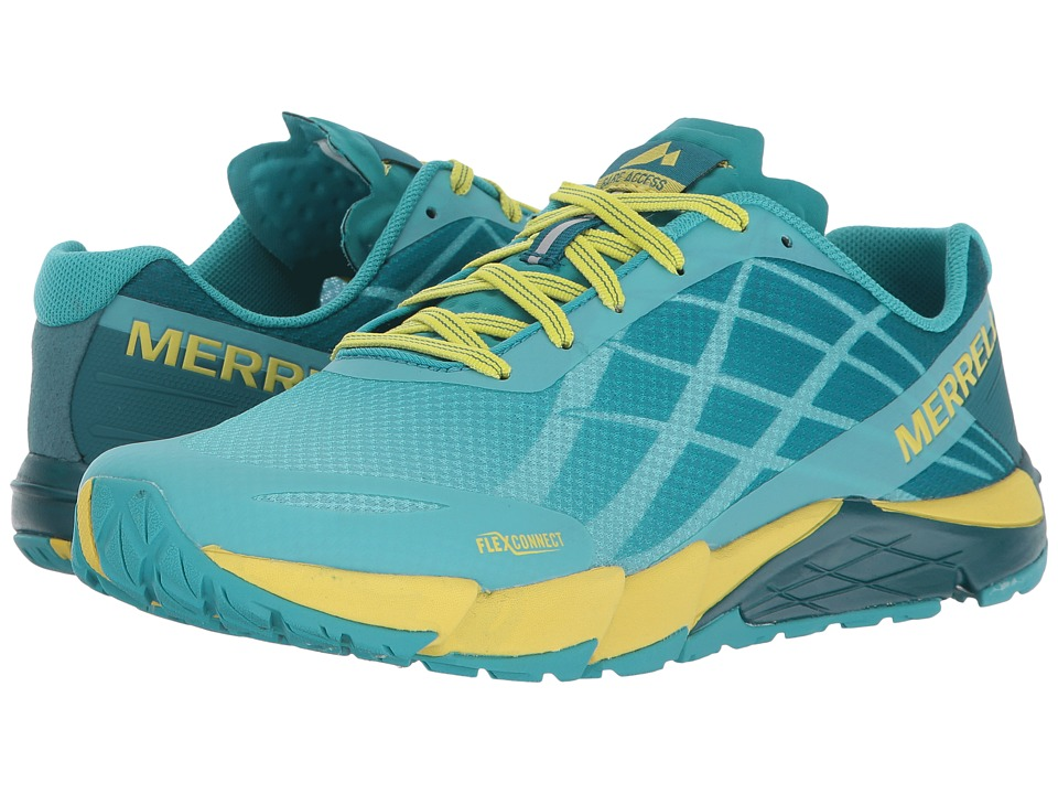 Merrell Bare Access Flex (Aruba Blue) Women's Shoes