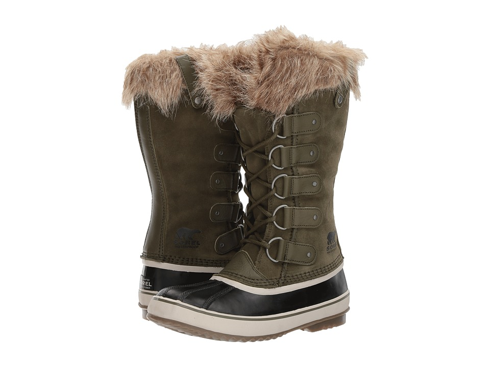 SOREL - Joan of Arctic (Nori/Dark Stone) Womens Cold Weather Boots