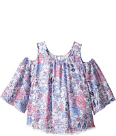 Ella Moss Girl - Izzy Printed Chiffon Top (Big Kids)