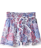 Ella Moss Girl - Izzy Printed Chiffon Shorts (Big Kids)