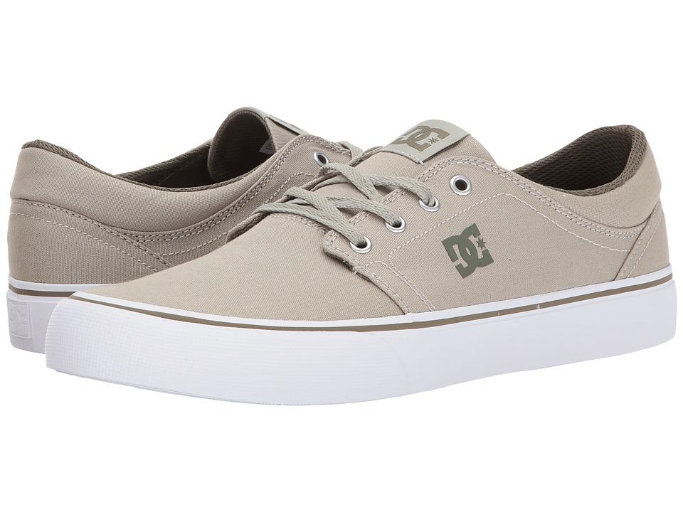 DC Trase TX (Limestone) Skate Shoes