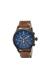 Timex - Timex Expedition Scout Chrono Leather Strap
