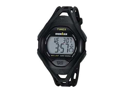 Timex Ironman Sleek 30 Full-Size Resin Strap - Black