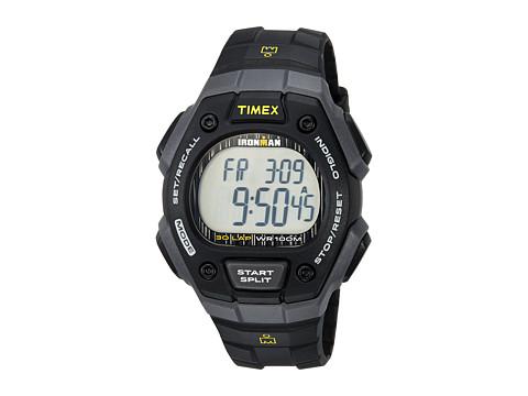 Timex Ironman Classic 30 Full-Size Resin Strap - Black