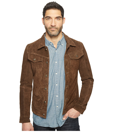 Goosecraft Cow Suede Denim Jacket 987