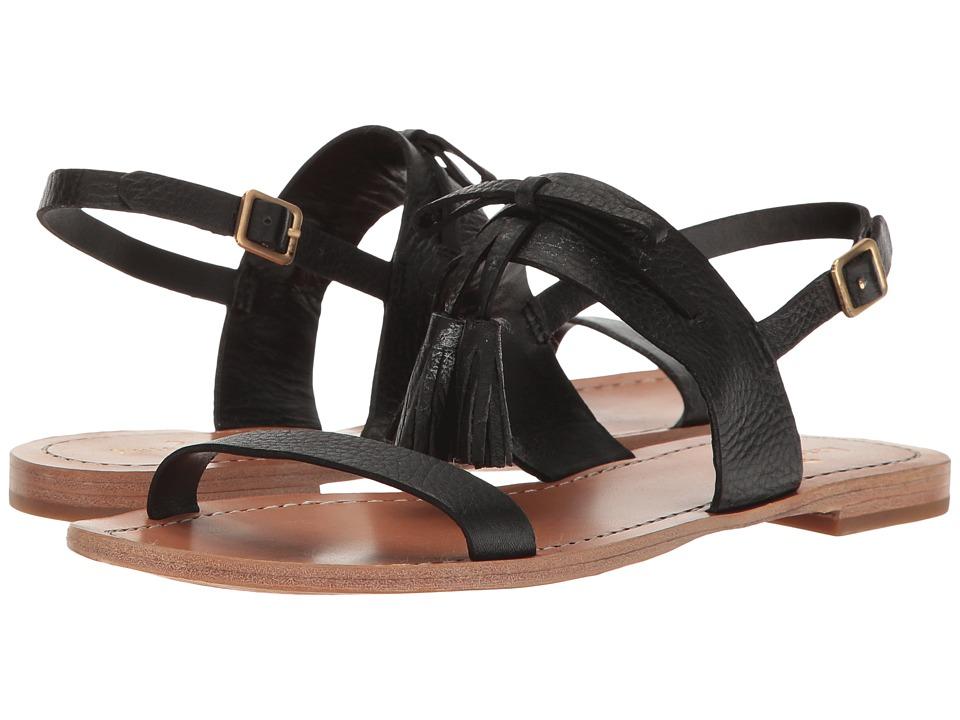 Kate Spade New York Carlita (Black Tumbled Leather) Women