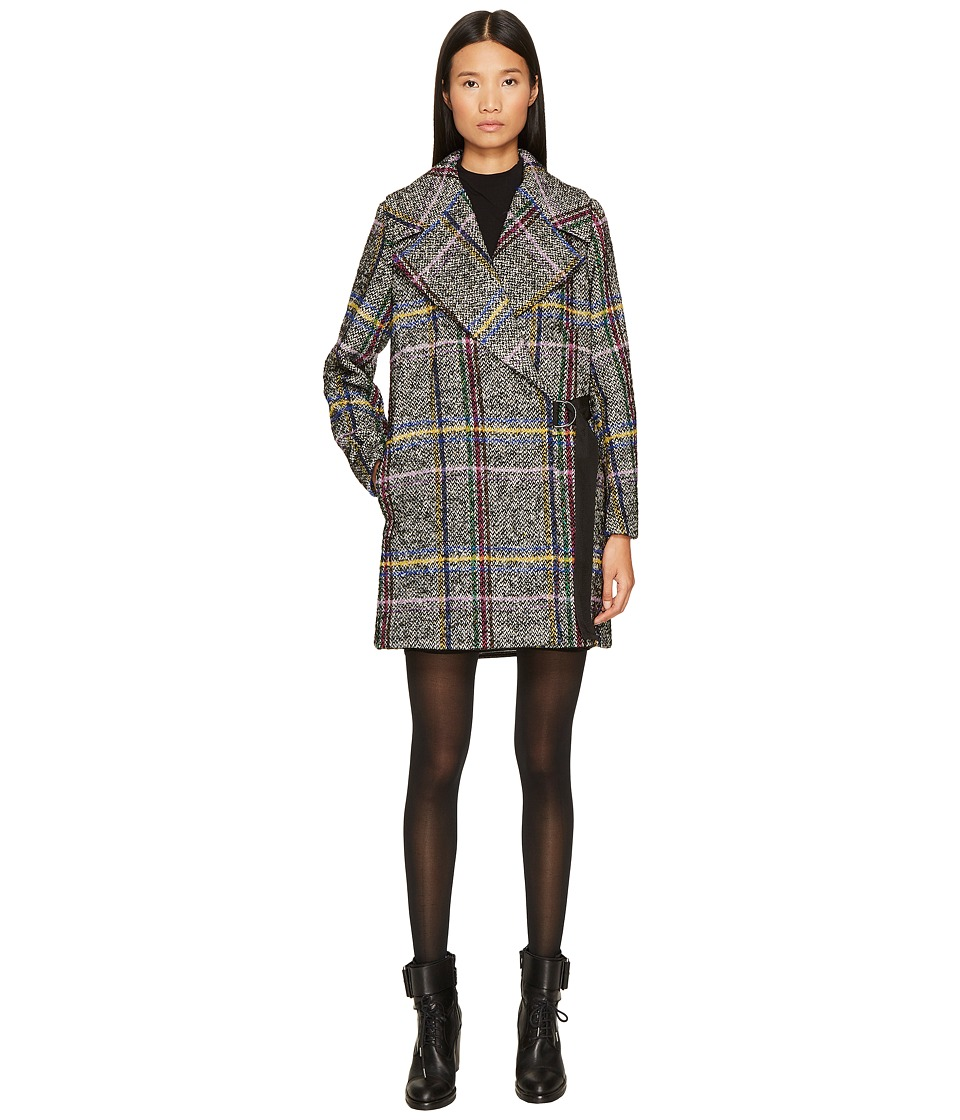 Sportmax - Agi Macrocheck Double Breasted Short Coat