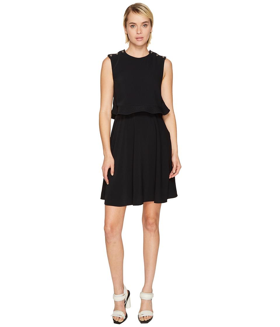 Sportmax - Tanga Pop Over Dress (Black) Womens Dress