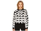 Sportmax Stagno Textured Zigzag Sweater