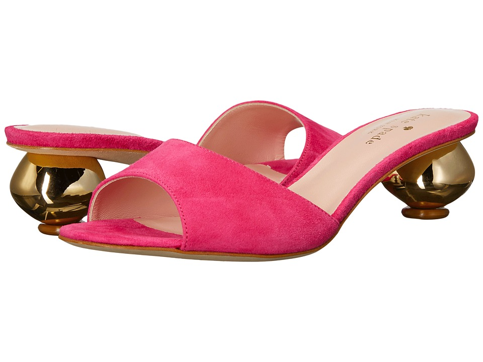 Kate Spade New York - Paisley (Pink Swirl Kid Suede) Wome...