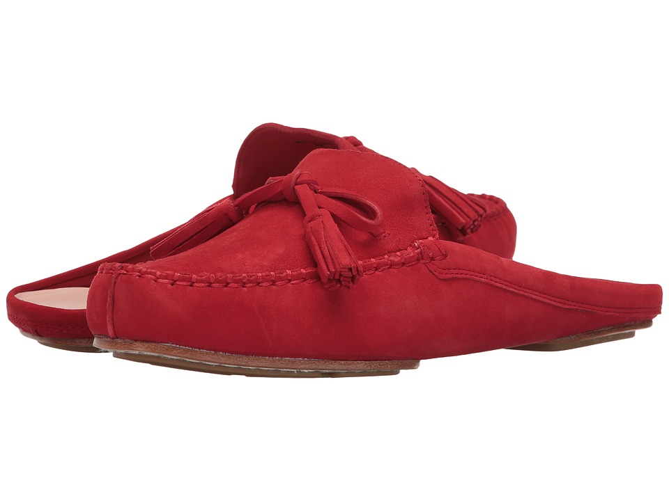 Kate Spade New York Matilda (Maraschino Red Kid Suede) Women