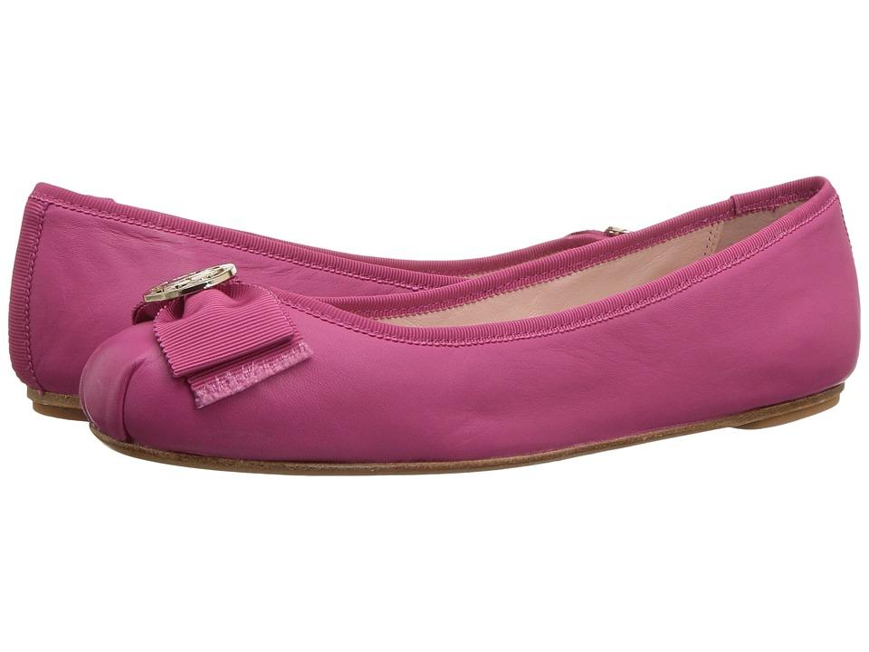 Kate Spade New York Fontana Too (Deep Pink Nappa/Deep Pink Grosgrain) Women