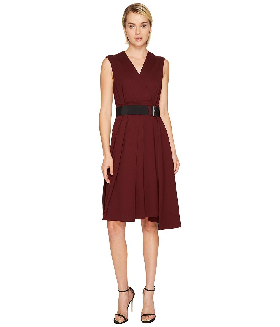 Sportmax - Maremma Tie Waist Dress (Plum) Womens Dress