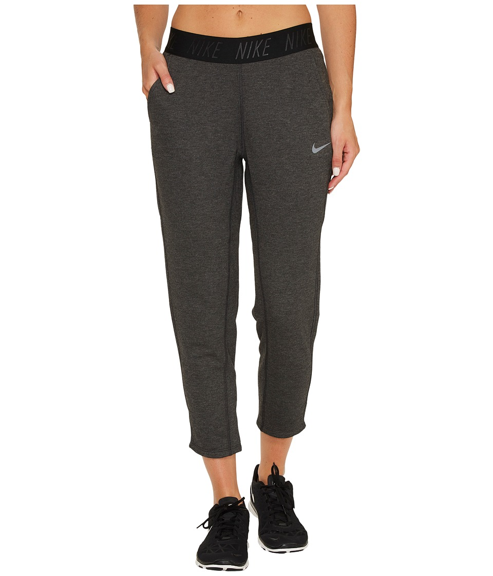 Nike Training Capri (Black Heather/Black/Cool Grey) Women