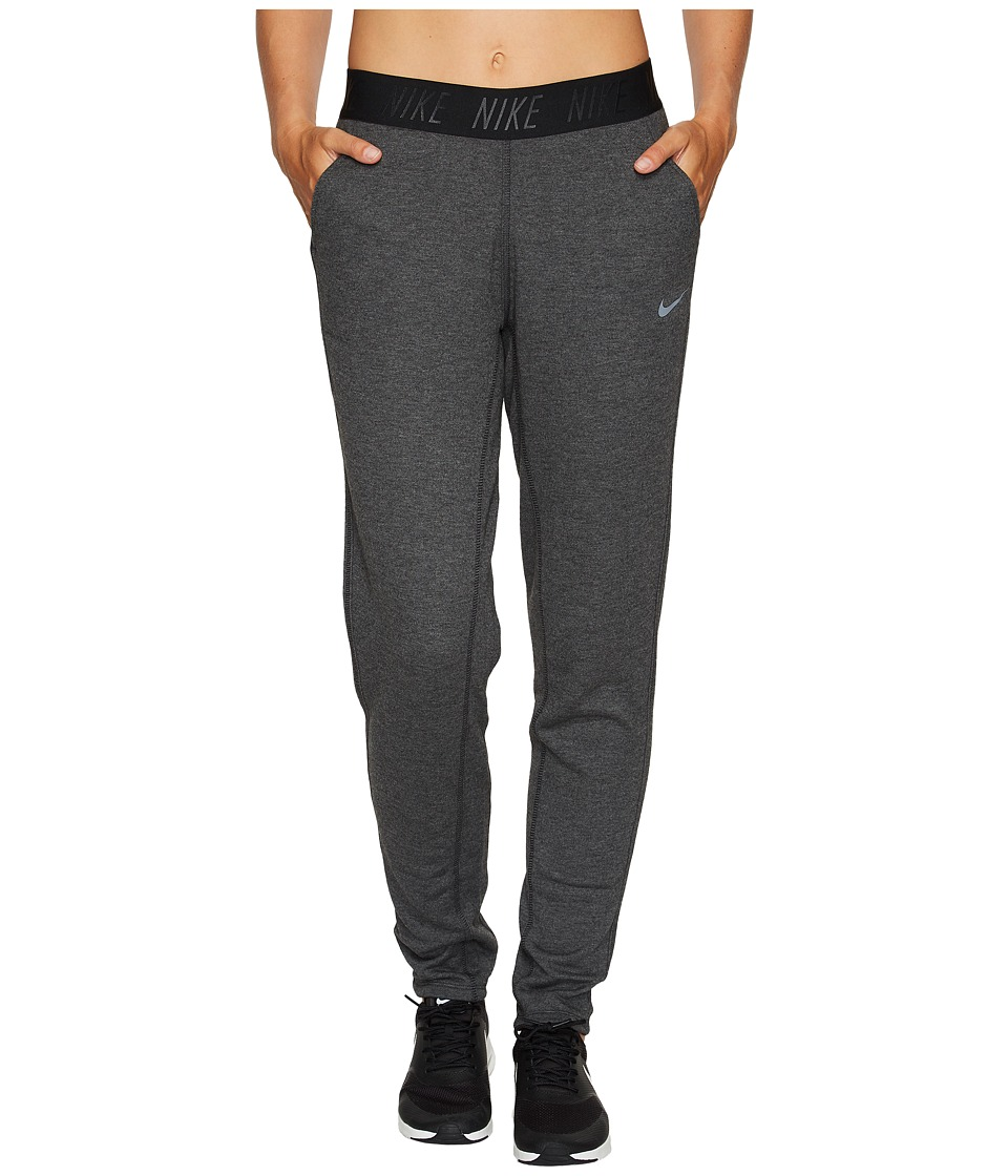 Nike Dry Training Pant (Black Heather/Cool Grey) Women