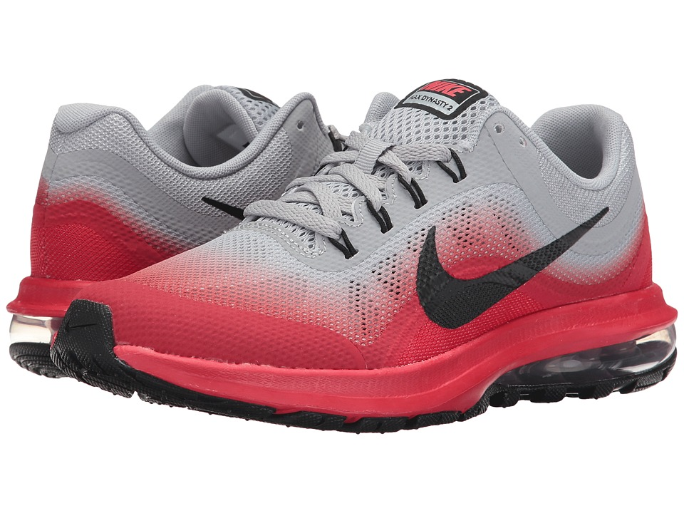 Nike Kids Air Max Dynasty 2 (Big Kid) (Wolf Grey/Black/University Red/White) Boys Shoes