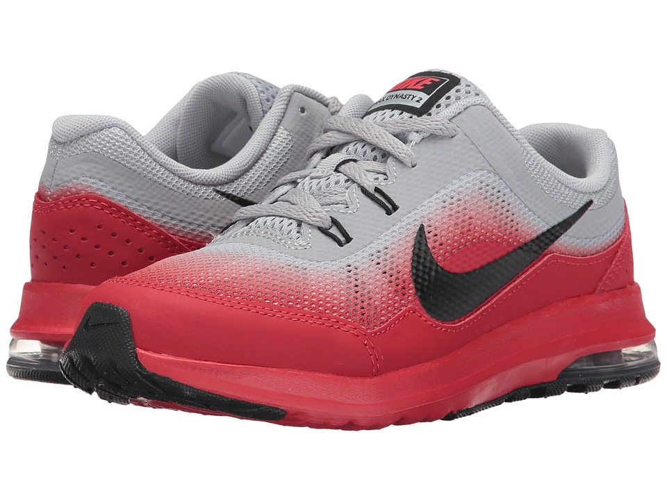 Nike Kids Air Max Dynasty 2 (Little Kid) (Wolf Grey/Black/University Red/White) Boys Shoes