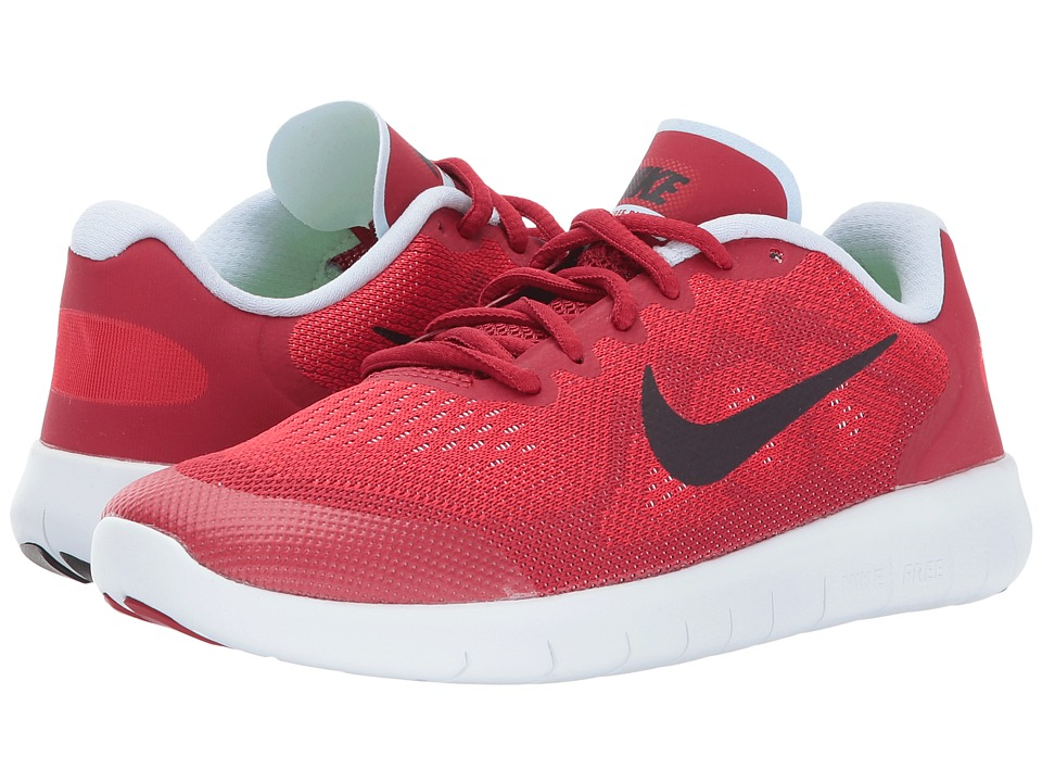 Nike Kids Free RN 2 (Big Kid) (University Red/Port Wine/Tough Red) Boys Shoes