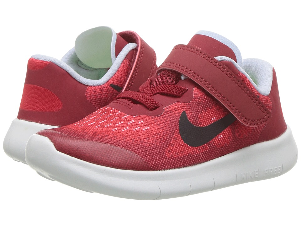 Nike Kids Free RN 2017 (Infant/Toddler) (University Red/Port Wine/Tough Red) Boys Shoes