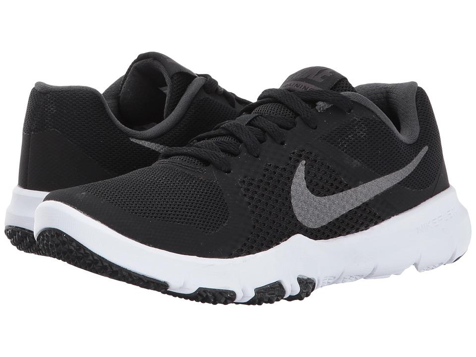 Nike Kids Flex TR Control (Little Kid) (Black/Metallic Dark Grey/Anthracite/White) Boys Shoes