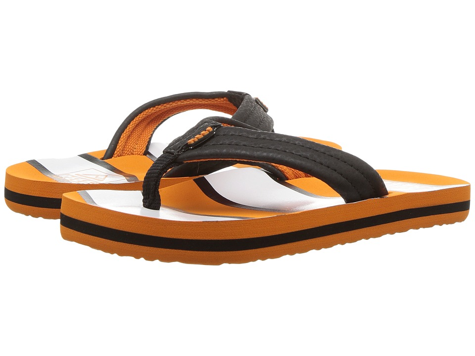 Reef Kids Ahi (Infant/Toddler/Little Kid/Big Kid) (Orange Fish) Boys Shoes