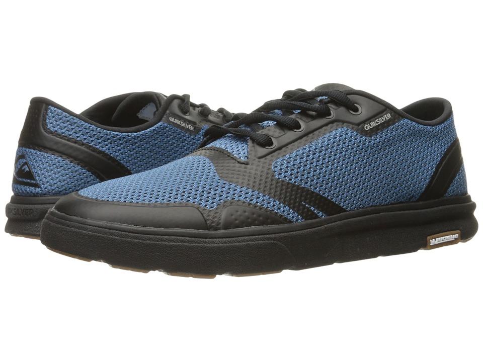 Quiksilver Amphibian Plus (Grey/Blue/Black) Men