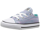 Converse Kids - Chuck Taylor All Star Jersey Knit Ox (Infant/Toddler)