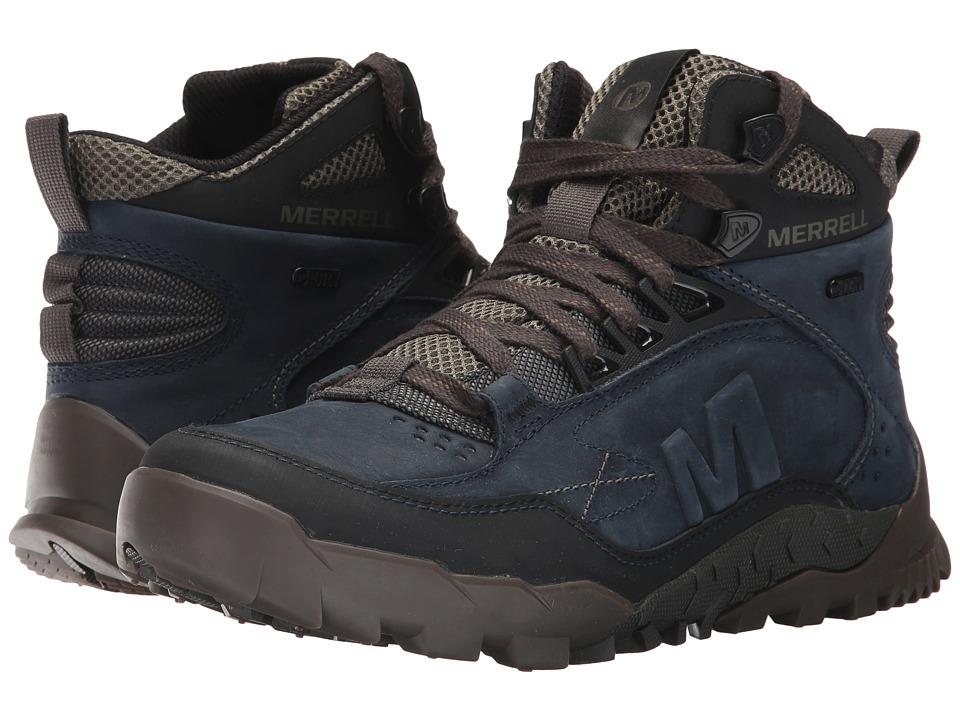 Merrell - Annex Trak Mid Waterproof (Sodalite) Mens Shoes