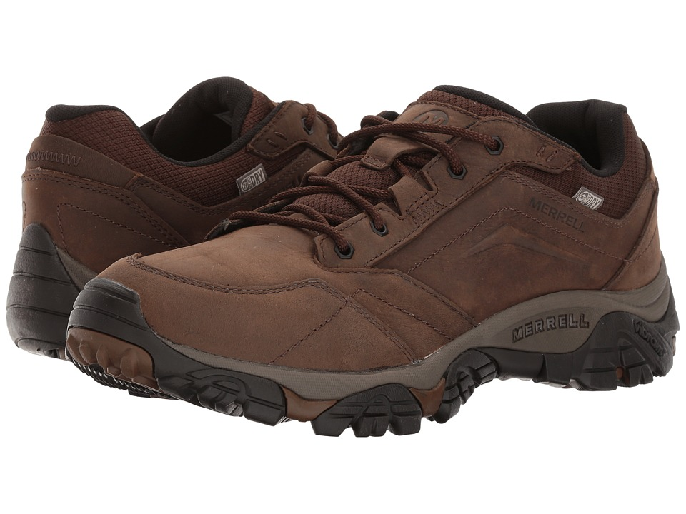 Merrell - Moab Adventure Lace Waterproof (Dark Earth) Mens Shoes