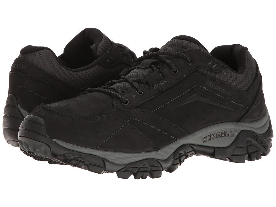 Merrell - Moab Adventure Lace (Black) Mens Shoes