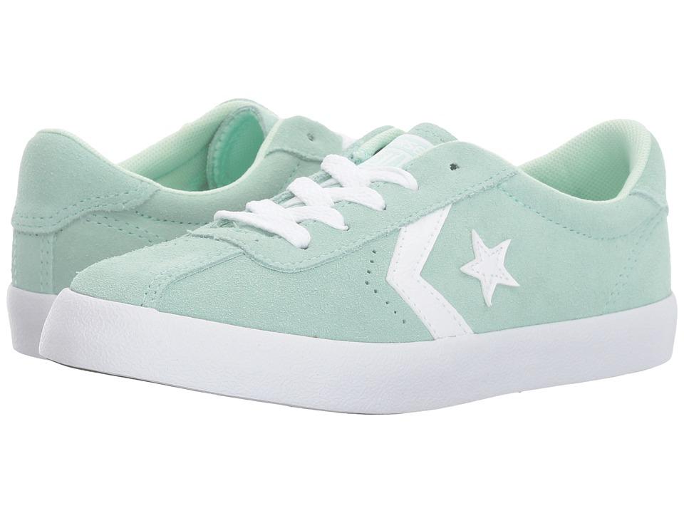 Converse Kids - Breakpoint Suede Ox (Little Kid/Big Kid) (Mint Foam/Mint Foam/White) Girls Shoes