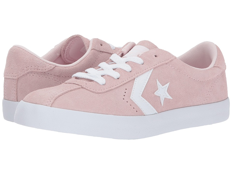 Converse Kids Breakpoint Suede Ox (Little Kid/Big Kid) (Arctic Pink/Arctic Pink/White) Girl