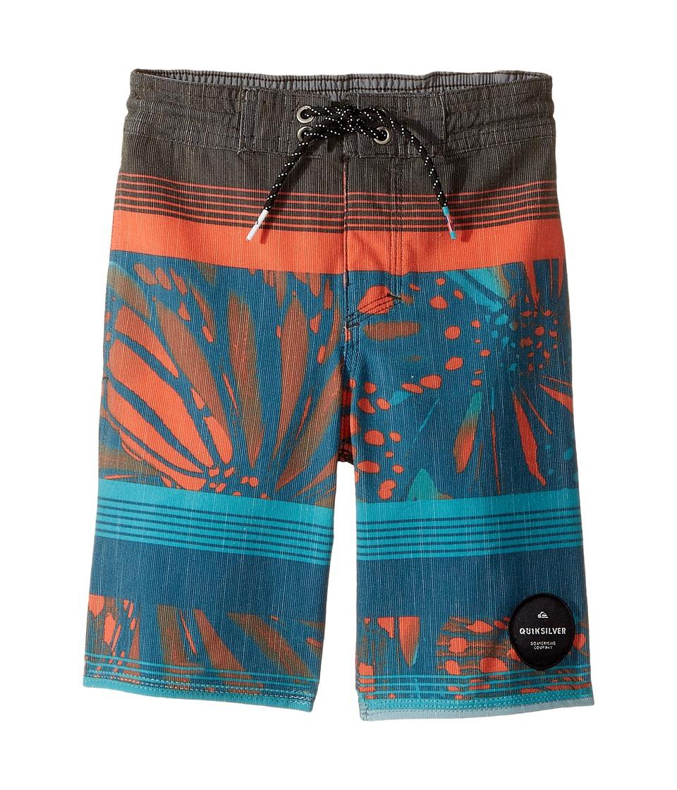 Quiksilver Kids Swell Vision PR Beach Shorts (Toddler/Little Kids) (Tarmac) Boy
