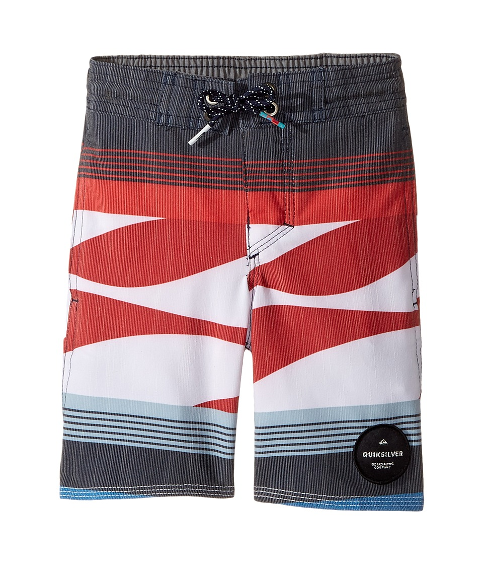 Quiksilver Kids Swell Vision PR Beach Shorts (Toddler/Little Kids) (Imperial Blue) Boy