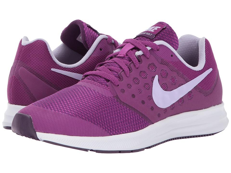 Nike Kids Downshifter 7 (Big Kid) (Night Purple/Violet Mist/Bold Berry) Girls Shoes