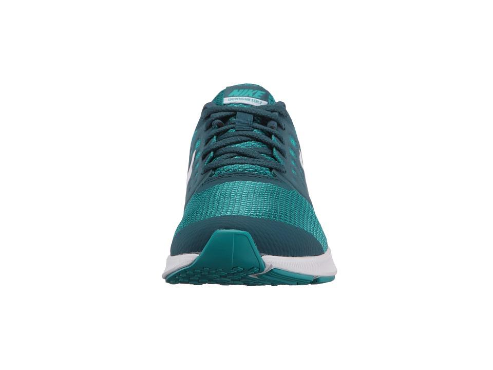 bbcdd86d0d25 Nike Kids - Downshifter 7 (Big Kid) (Space Blue White Turbo Green) Girls  Shoes online shop