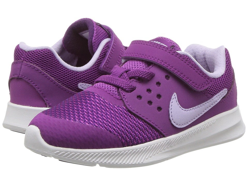 Nike Kids Downshifter 7 (Infant/Toddler) (Night Purple/Violet Mist/Bold Berry) Girls Shoes