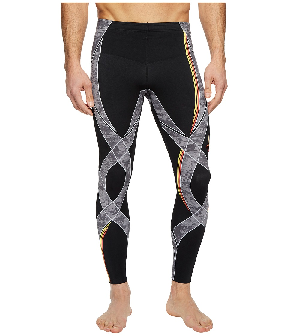 CW-X Generator Revolution Tights (Black/Stone Orange Web) Men