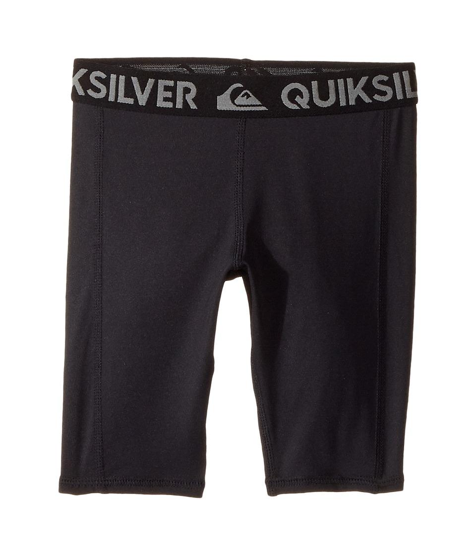 Quiksilver Kids Rashie Rashguard Shorts (Toddler/Little Kids) (Black) Boy