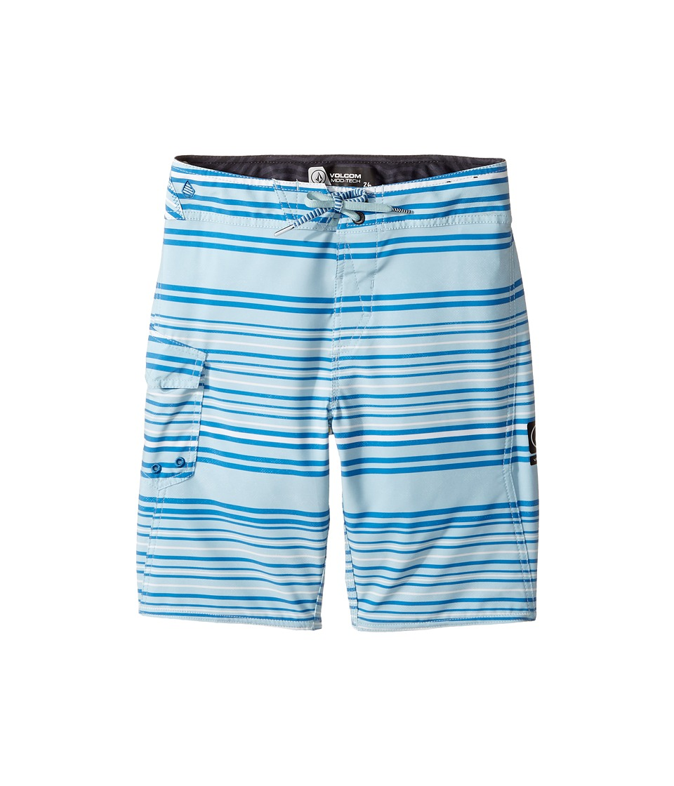 Volcom Kids Magnetic Liney Mod Boardshort (Big Kids) (Cloud Blue) Boy