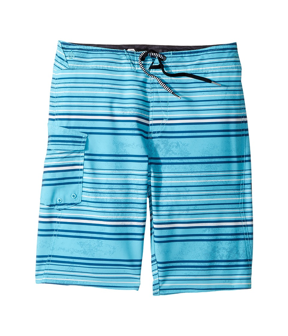 Volcom Kids Magnetic Liney Mod Boardshort (Big Kids) (Dusty Aqua) Boy