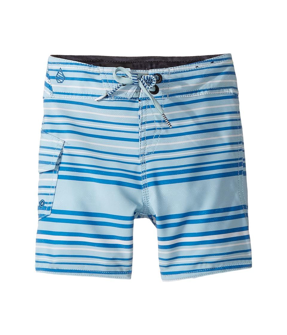 Volcom Kids Magnetic Liney Mod Boardshorts (Toddler/Little Kids) (Cloud Blue) Boy